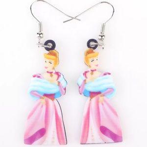 Cinderella Acrylic Earrings